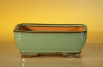 Ceramic Bonsai Pot - Rectangle