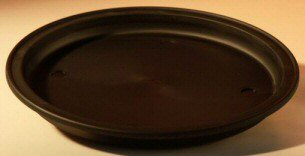 "12"" Round - Heavy Duty Round Humidity/Drip Bonsai Tray"