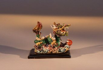 Miniature Dragon Figurine Facing to the Right