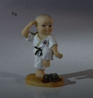 Karate Kid Figurine