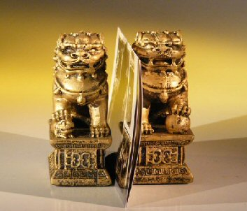 Lion Figurines - Paper Organizer