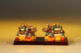 Piggyback Turtle  Miniature Figurines