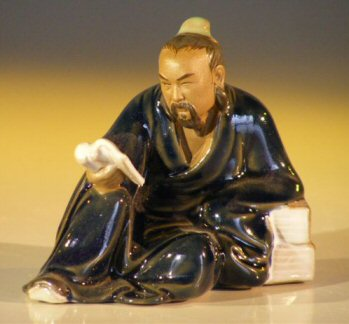 Miniature Ceramic Figurine